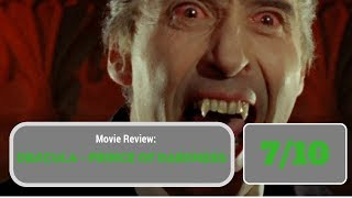 Movie Review: Dracula - Prince of Darkness (1966)