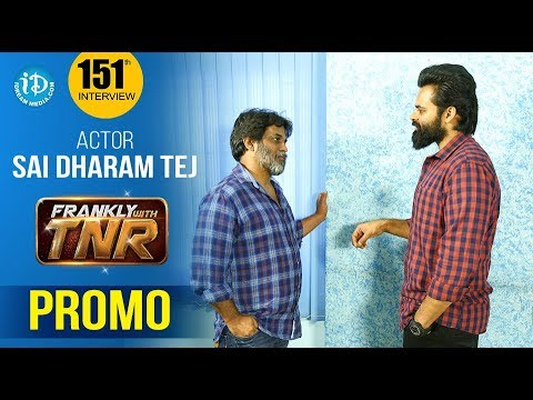 Actor Sai Dharam Tej Exclusive Interview - Promo || Chitralahari Movie || Frankly With TNR #151