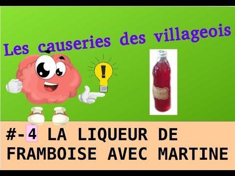 Liqueur De Framboise Avec Martine