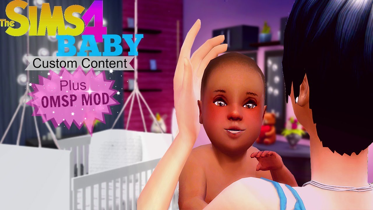 The Sims 4 Custom Content Baby Edition Crib Mod Amp Omsp