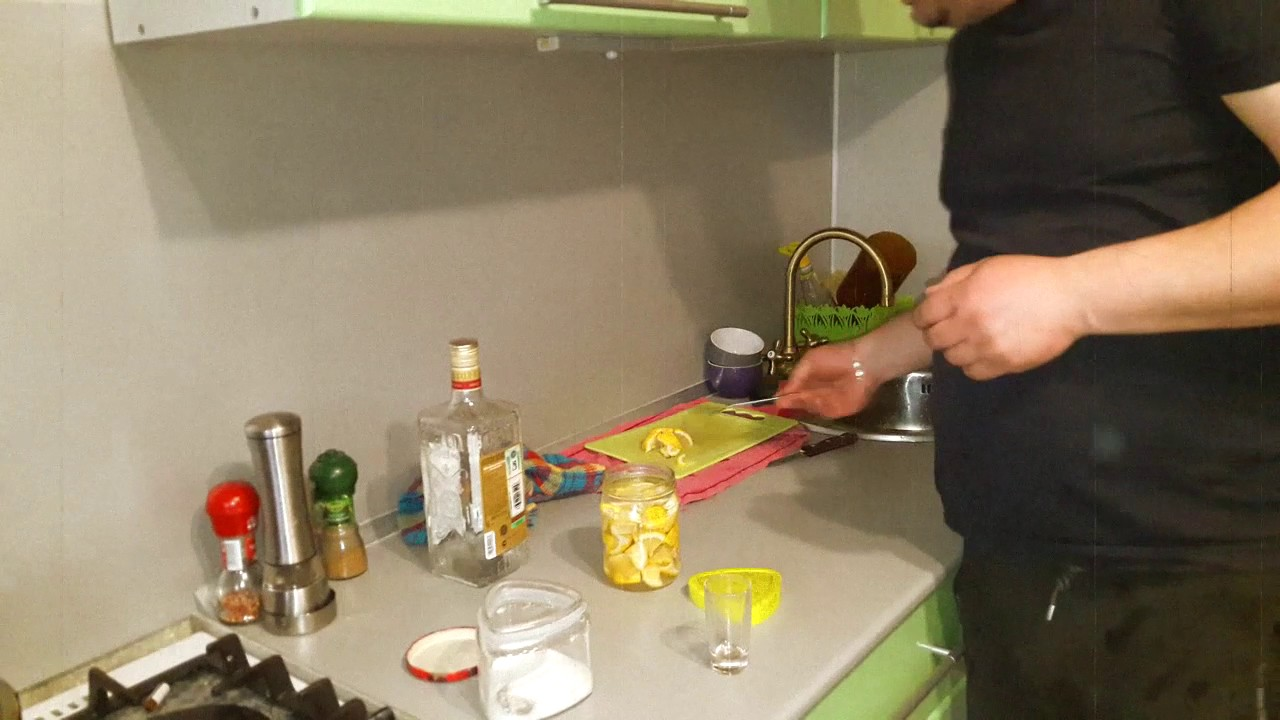 Лимонная настойка на (Самогоне)..Бабушкин рецепт