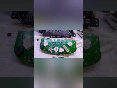 Ховер : ремонт подсветки щитка