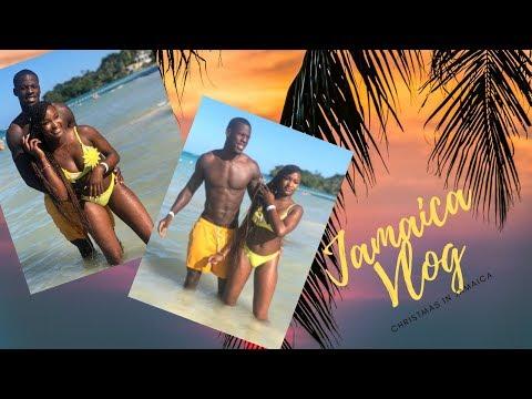 TRAVEL VLOG | TOOK MY BOYFRIEND TO JAMAICA TO MEET MY MOM ! pt1 thumbnail