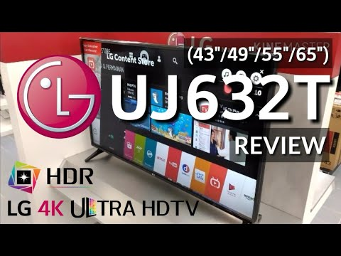 Review SMART TV 4K ULTRA HD LG 43UJ632T New 2017 indonesia | HD