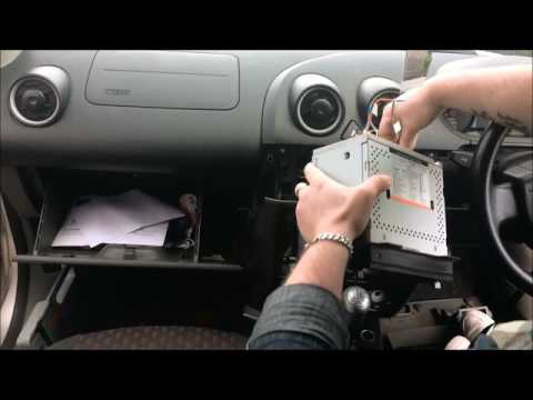 FITTING RADIO BRACKET ON FORD FIESTA 2002
