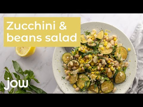 recette-zucchini-and-beans-salad