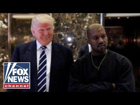 Kanye West professes 'love' for Trump, criticizes Obama