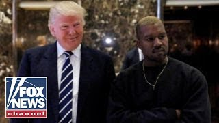 Kanye West professes 'love' for Trump, criticizes Obama