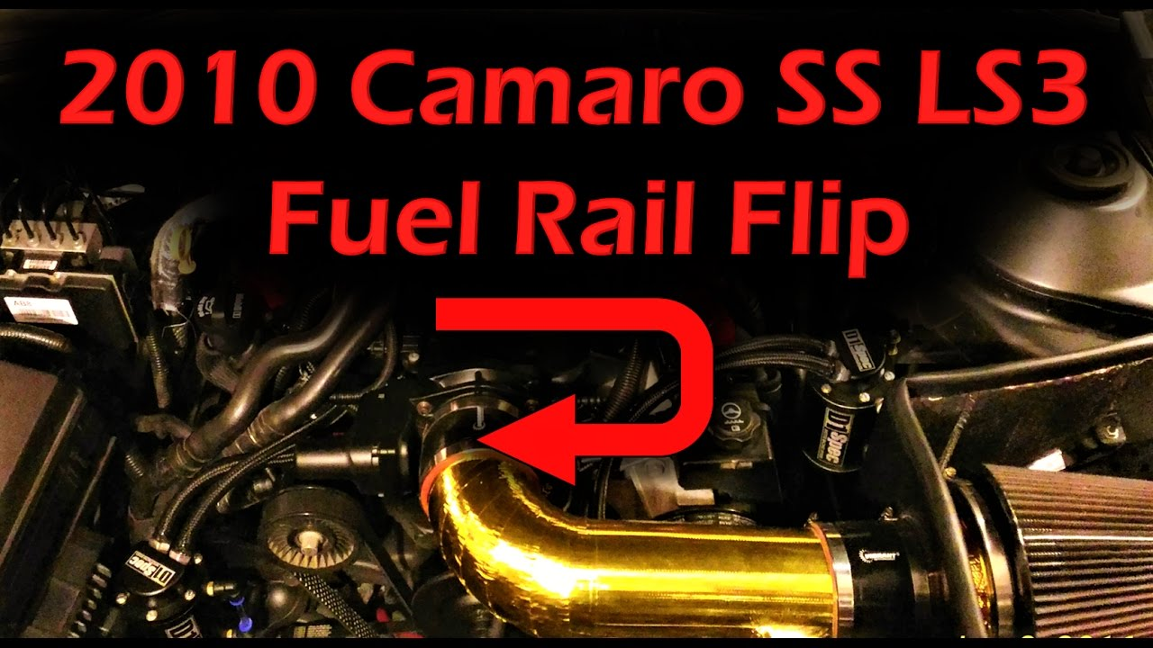 2010 Camaro SS Fuel Rail Flip