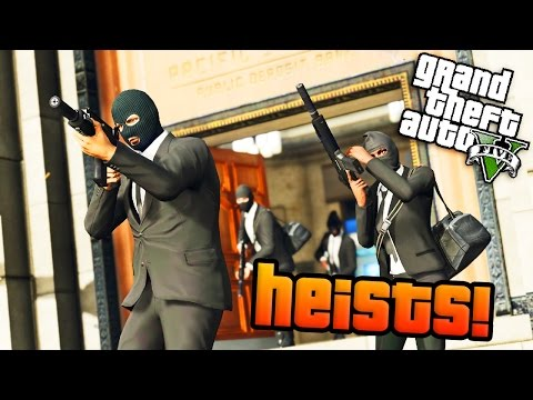 GTA Online: Rockstar FINALLY Confirm Official Heists Release Date! (GTA 5 Heists DLC)