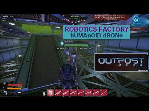 Outpost ZERO - Making The Humanoid Drone |