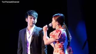 ต้น ธนษิต Ton Thanasit & Ernie - Ombak Rindu [4k] #ConcertofHarmony #ThailandMalaysia60 - 170720
