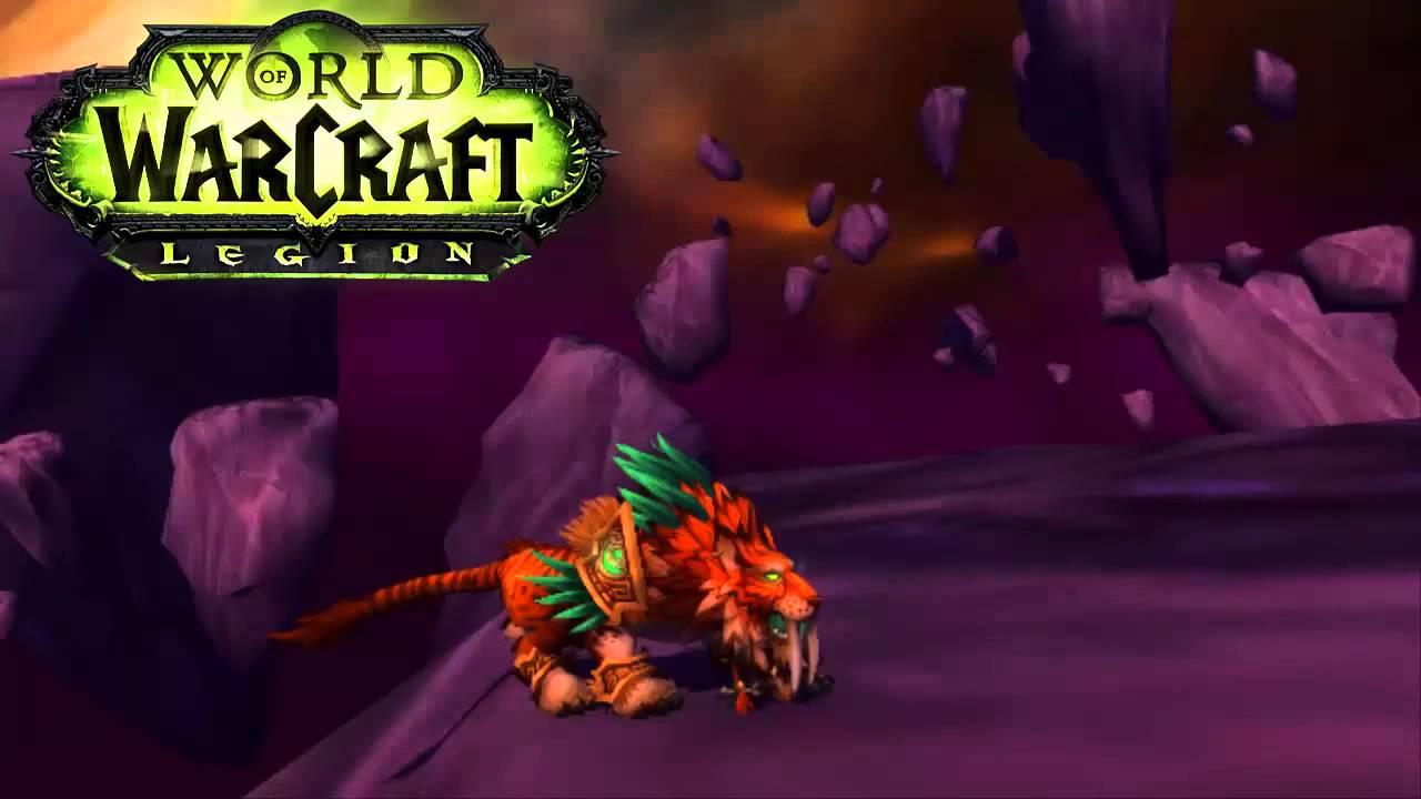 Legion Feral Druid Cat Forms - YouTube