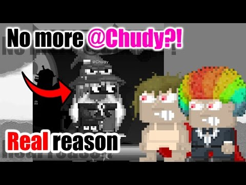 Growtopia | Why @Chudy is not a mod anymore + More