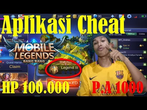 Aplikasi Cheat Mobile Legend Di Jamin 100% Work - Mobile Legend Indonesia