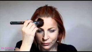 Senčenje obraza in nanos rdečila za lica Thumbnail