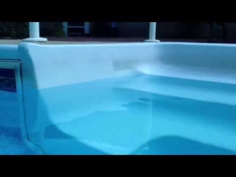 how to clean pool steps youtube. Black Bedroom Furniture Sets. Home Design Ideas
