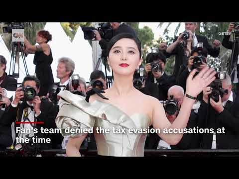 China's most famous actress Fan Bingbing has disappeared