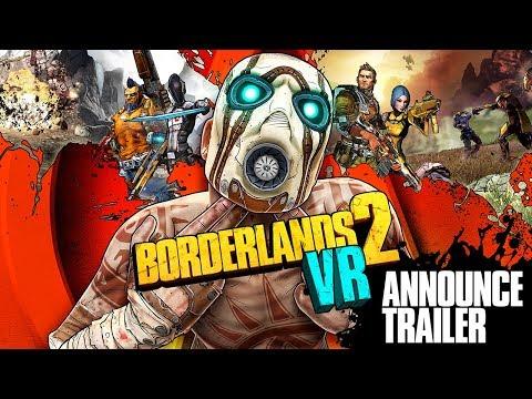 Вышла VR версия Borderlands 2