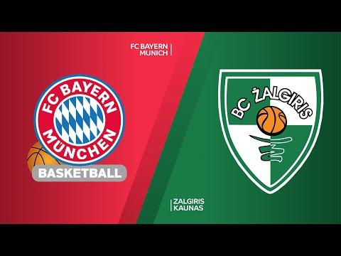 FC Bayern Munich - Zalgiris Kaunas Highlights |Turkish Airlines EuroLeague, RS Round 33