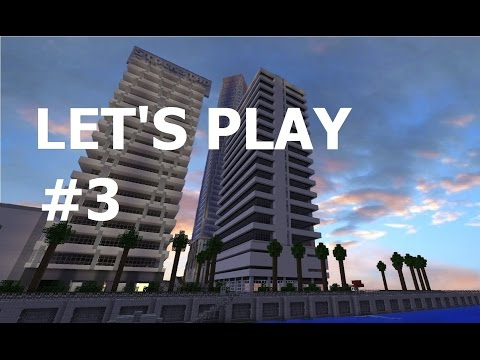 Let's Play WorldCraft #3 Build Notting Hill Gate tube station | English |