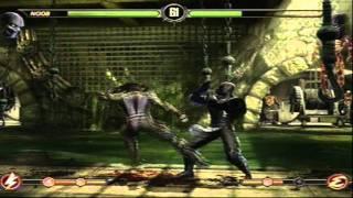 Mortal Kombat 9 - Noob Saibot (MK2) (Arcade Ladder) [Expert] No Matches Lost