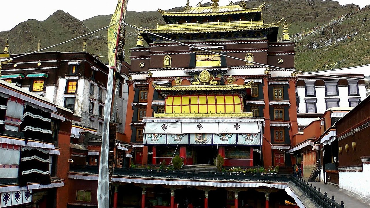 Tashilhunpo Monastery, Shigatse, Tibet, China in HD