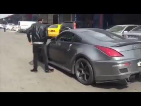 nal TURAN 350Z Deniyor Egzoz Show 2016