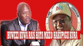 Exclussive Cyprian Musiba:Namsaidia Rais Magufuli/Lissu hawezi Urais Hata mkewe hato mpigia KURA.