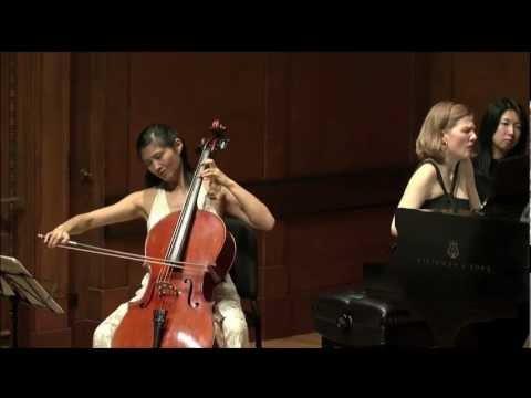 Sophie Shao - Beethoven Sonata No. 5, Mvt 2