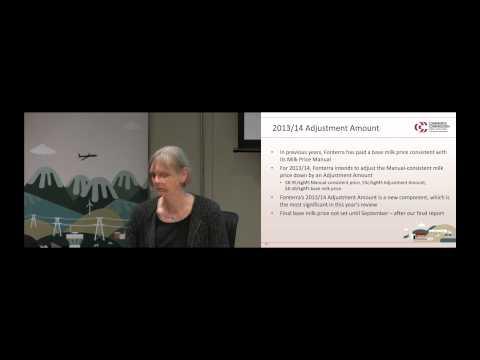 Analyst briefing – 15 August 2014