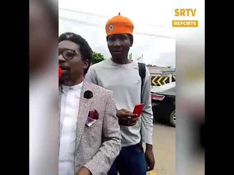 """The Revolution Has Already Began"" —Segalink At Lagos #EndSARS Protest"