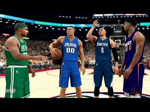 NBA 2K17 My Career - Slam Dunk Contest vs LaVine and Gordon! PS4 Pro 4K