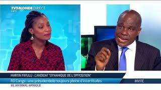 RDC : Martin Fayulu candidat de la