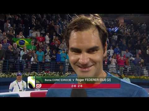 Post-Match Interview: Roger Federer (SFs) Dubai Duty Free Tennis Championships 2019