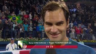 Post-Match Interview: Roger Federer (SFs) Dubai Duty Free Tennis Championships 2019