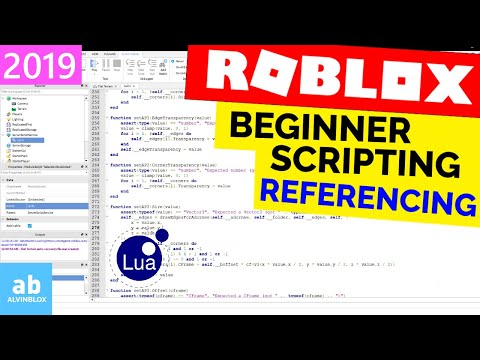 Roblox Scripting Tutorials | Script on Roblox With AlvinBLOX