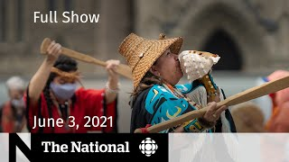 MMIWG action plan, Delta variant, Air Canada executive travel   The National for June 3, 2021