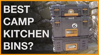 A Tour of Our Overlanding Camp Kitchen Bins