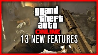 GTA V | 13 New Features About GTA V & GTA Online | PS4, Xbox One & PC