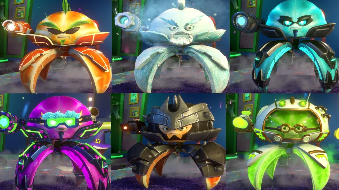 Citron from plants vs zombies garden warfare 2 plants vs zombies - Pvz Garden Warfare 2 All Citrons Gameplay New Citrons Turf Takeover Youtube