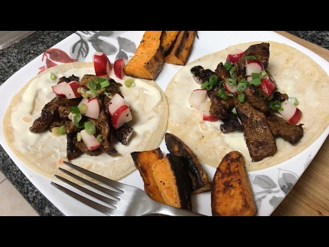 Cooking With Hutch // Beef Tacos and Radish Salsa