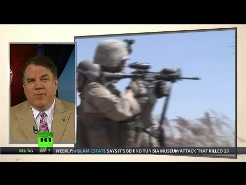 Rep. Alan Grayson on Congressional Trust, Democratic Blood Libel & Jobs not Drones