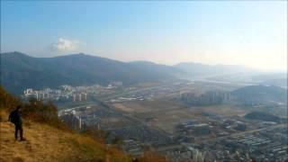 Hiking in Yangsan, South Korea