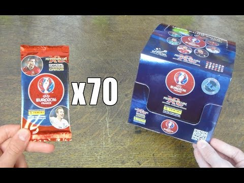 Arenalyn XL Euro 2016 - BOOSTER BOX OPENING!