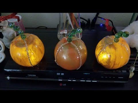 Dollar Tree DIY Pumpkin Luminary $5 or less!