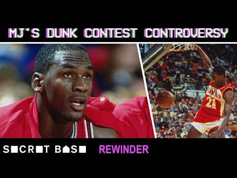 1988's controversial Michael Jordan vs. Dominique Wilkins Dunk Contest final needs a deep rewind