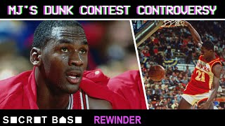 Michael Jordan and Dominique Wilkins' controversial Dunk Contest finish needs a deep rewind