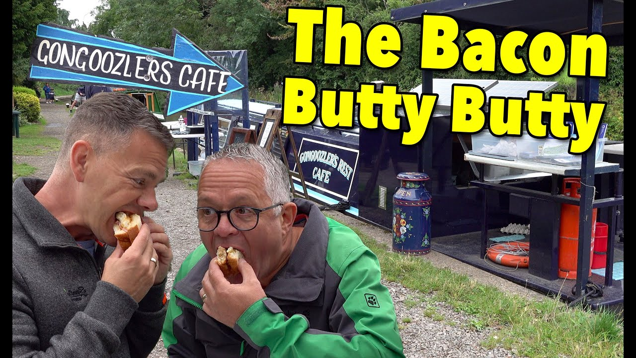 The BEST Bacon Butty in Britain? Narrowboat to Braunston