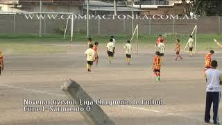 Por una nueva fecha del torneo de novena división de la liga Chaque...